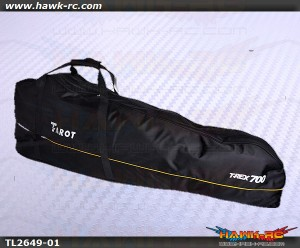 Tarot 700 Size Heavy Duty Heli Carry Bag (Black)