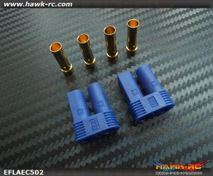 EC5 High Current Connector (Battery 2pcs)