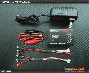 Hawk Creation 1~3S Charger For mCP X/mSR X/Nano CP X
