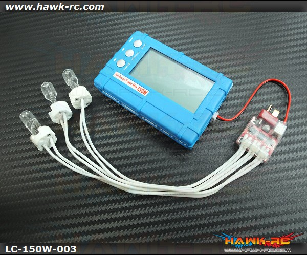 1-6S Lipo Checker, Balancer & Discharger (Discharge 1~6S at 150W)