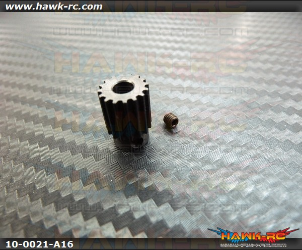 Motor Pulley 16Tx4mm hole - WARP 360