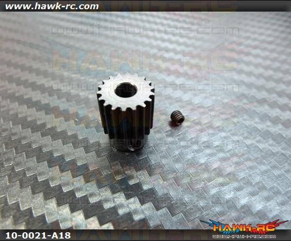 Motor Pulley 18Tx4mm hole - WARP 360