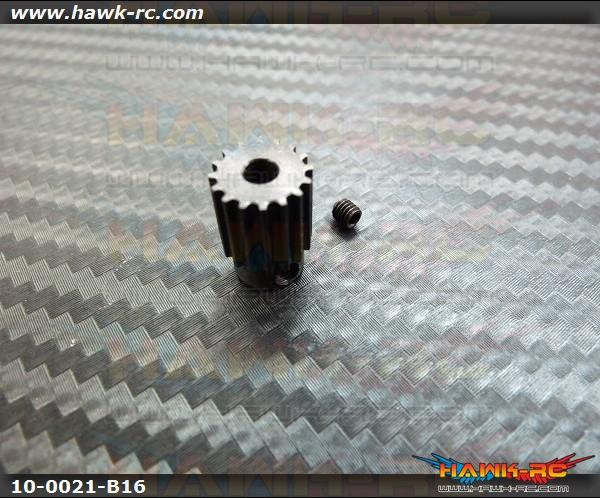 Motor Pulley 16Tx3.17mm hole - WARP 360