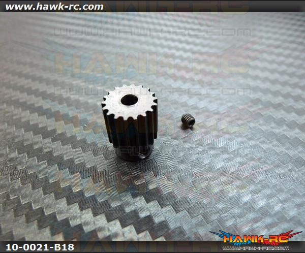 Motor Pulleyy 18Tx3.17mm hole - WARP 360