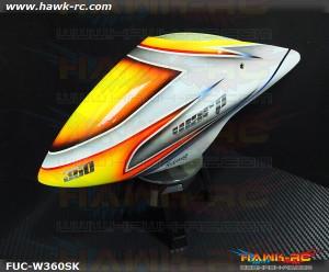 Fusuno Snow Knight Fiberglass Airbrush Canopy Warp 360