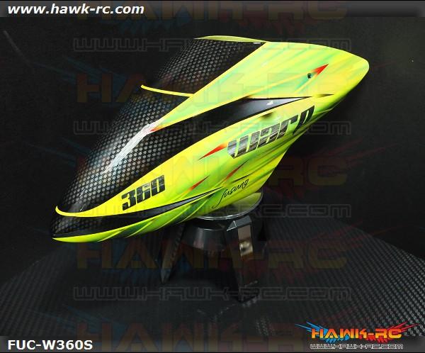 Fusuno Slash Fiberglass Airbrush Canopy Warp 360