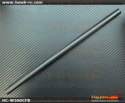 Hawk Creation True Carbon Boom (0.7mm Thickness, 23.5g) For Warp 360 ***Special Offer***