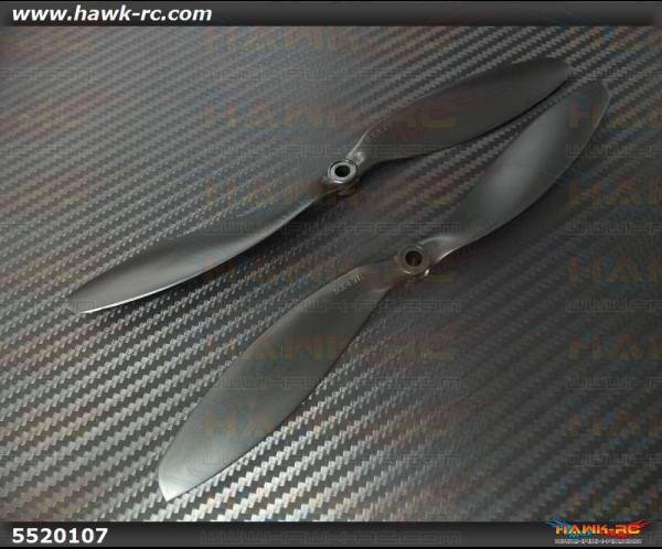 DualSky Hornet 460 9 Inch Propeller (1pair, Black)