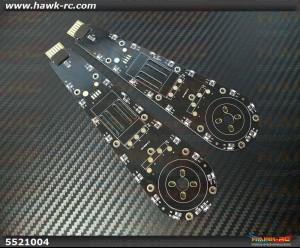DualSky HORNET 460 H-Arm Board 2pcs