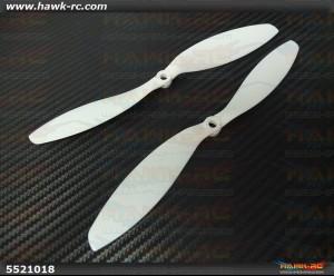 DualSky Hornet 460 9 Inch Propeller (1pair, White)