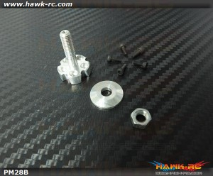 DUALSKY Prop Saver XM28s' Series Rotor
