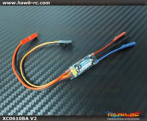DUALSKY Super light Xcontroller V2 6A ESC 2-3s For Airplane/Heli