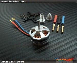 DUALSKY 6x3…7x3 Plane Xmotor EA Brushless 1800KV Outrunner