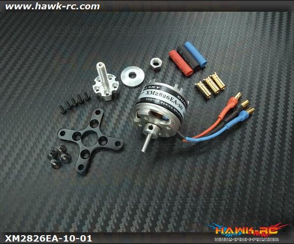 DUALSKY 300 Size Xmotor EA Brushless 1630KV Outrunner