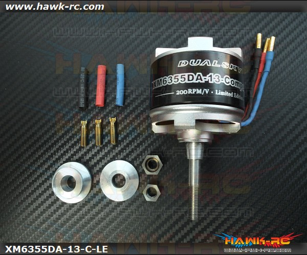 DUALSKY Xmotor DA Competition Limited Edition Brushless Outrunner 200KV