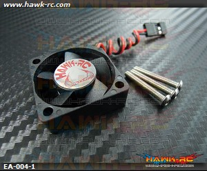 Hawk Creation ESC Cooling Fan (30*30*10mm) 5~8.4V