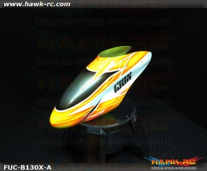 FUSUNO Airbrush Fiberglass Canopy Type A Blade 130 X