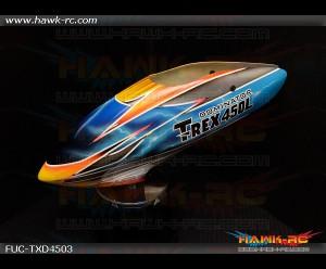 FUSUNO Tropic Thunder Airbrush Fiberglass Canopy Trex 450L Dominator