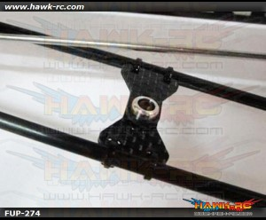 FUSUNO Carbon Fiber Tail Boom Support Brace 450 size