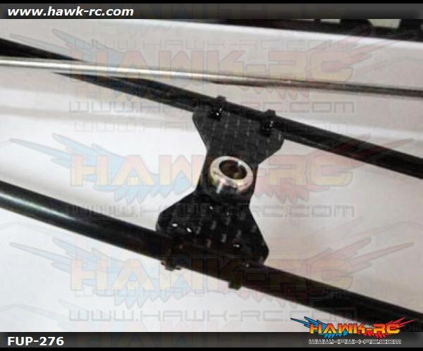 FUSUNO Carbon Fiber Tail Boom Support Brace 500 size