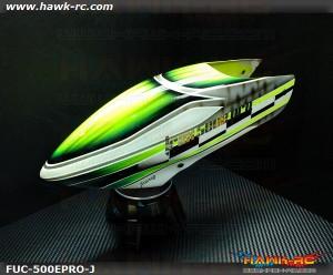 FUSUNO New Design Airbrush Fiberglass Canopy Trex 500E Pro Type J