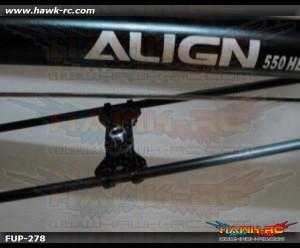 FUSUNO Carbon Fiber Tail Boom Support Brace 550-700 size