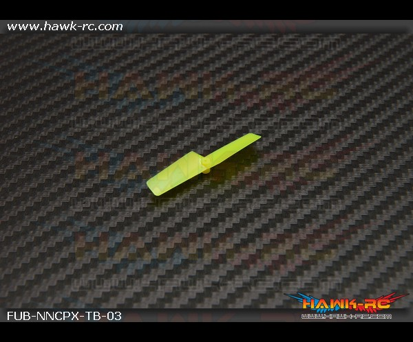 FUSUNO Plastic Propeller 42mm Neon Yellow-Nano CPX/V922/Turnigy FBL 100 (1pc)