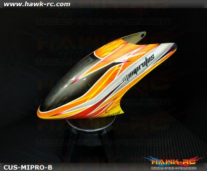 FUSUNO New Design Airbrush Fiberglass Canopy Mini Protos Type B