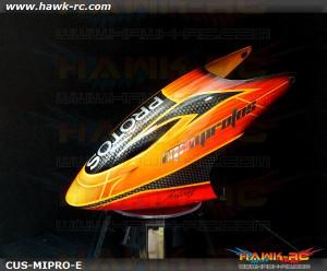 FUSUNO New Design Airbrush Fiberglass Canopy Mini Protos Type E
