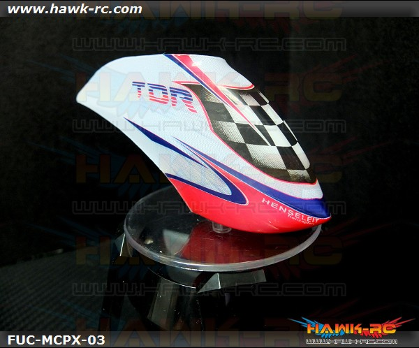 Hawk Creation X Fusuno TDR Canopy For mCP X/BL