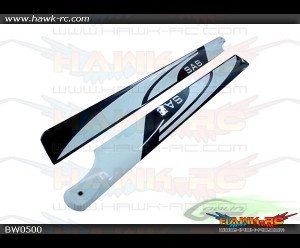 SAB 500mm Carbon Fiber Main Blade - Goblin 500