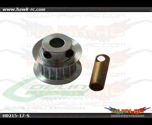 SAB Aluminum Motor Pulley Z17 - Goblin 500