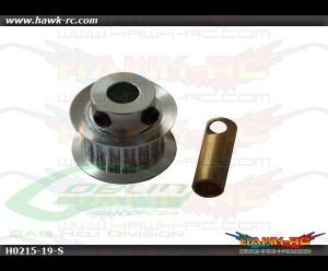 SAB Aluminum Motor Pulley Z19 - Goblin 500/570