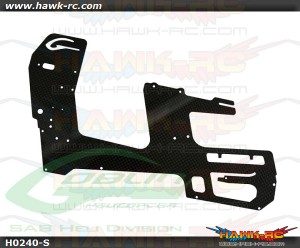 SAB Carbon Fiber Main Frame(1pc) - Goblin 500