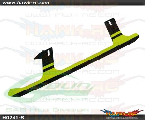 SAB Carbon Fiber Landing Gear Yellow(1pc) - Goblin 500