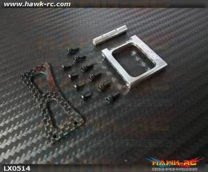 LYNX Tail Upper Case - Silver - GOBLIN 500/570