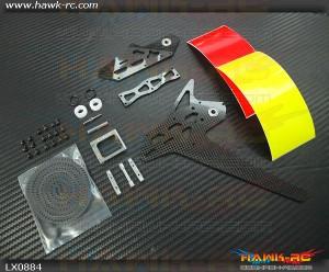 GOBLIN 500 - 550 Stretch Tail Kit - Silver