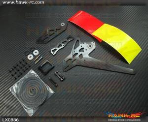 GOBLIN 500 - 550 Stretch Tail Kit - Black