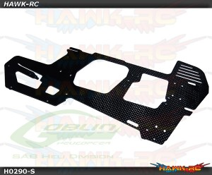 Carbon Fiber Main Frame (1pc) - Goblin 570