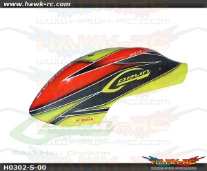 Canomod Airbrush Canopy Yellow/Orange- Goblin 570