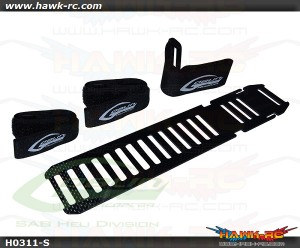 H0311-S Carbon Fiber Battery Tray - Goblin 570