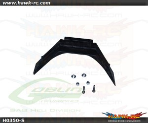 Plastic Landing Gear Support (1pc) - Goblin 500/570