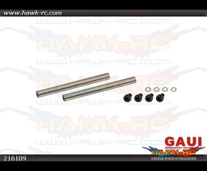 X3 Main Rotor Spindle Shaft x 2pcs (for CNC blade Grips)