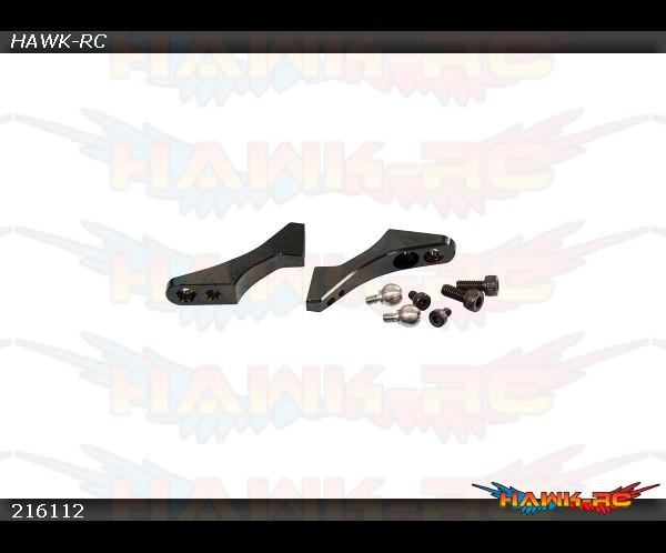 X3 CNC Main Grip Levers (Black anodized)