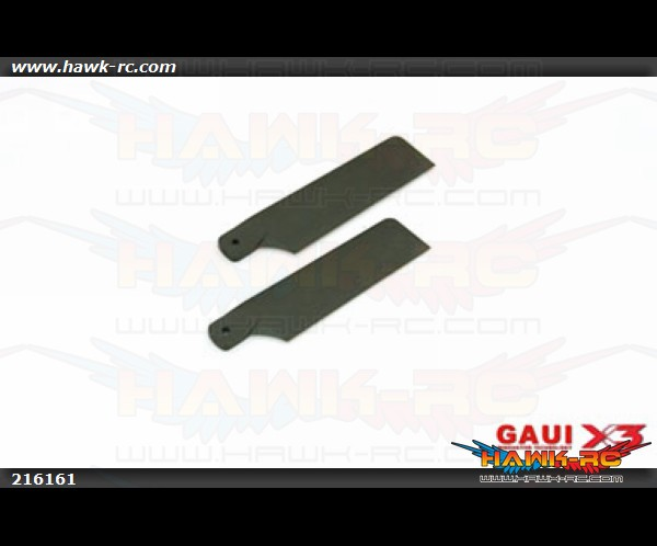 Gaui 62mm Tail Blade (Black)