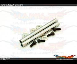 X3L Main Rotor Head Spindle (2pcs) M3 screws