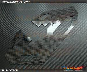 FUSUNO 1.2mm Carbon Fiber Frame Gaui X3 (Right)