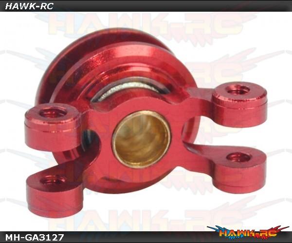 Precision CNC Aluminum Tail Pitch Slider (RED) - GAUI X3