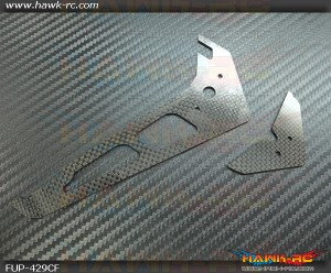 FUSUNO Carbon Fiber Hor/Vert Fins Gaui X4/4II