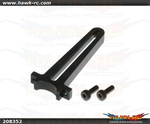X5 CNC Swashplate Guide (Black anodized)